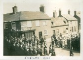 Chatteris Jubilee Celebrations 1935. End of New Road & High Street, Chatteris.
