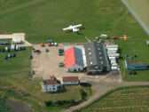 Chatteris Microlight Airfield.West London Parachute Club drop point.