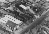 Aerial view 91-97 High Street, Chatteris. J. T. Martin (Builders) at 95.