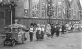 King George VI Coronation celebration parade, King Edwards School, Chatteris.