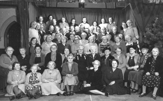 Chatteris Methodist Fellowship Social Club members.