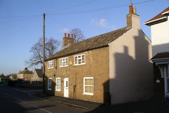 Private house once The Cricketers public house, Railway Lane, Chatteris.