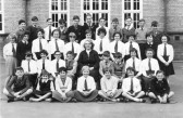 Class Photo at King Edwards School, Chatteris.