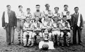 Chatteris Town Youth Football team 1949-50. Photo in possession of Tom Furnell.