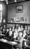 Pupils of King Edward School, Chatteris at time of coronation of Queen Elizabeth ll.