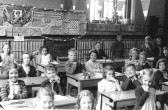 Pupils of King Edward Primary School, Chatteris, at time of Coronation of Queen Elizabeth ll