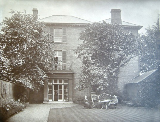 Original rear of Grove House, 74 High Street
