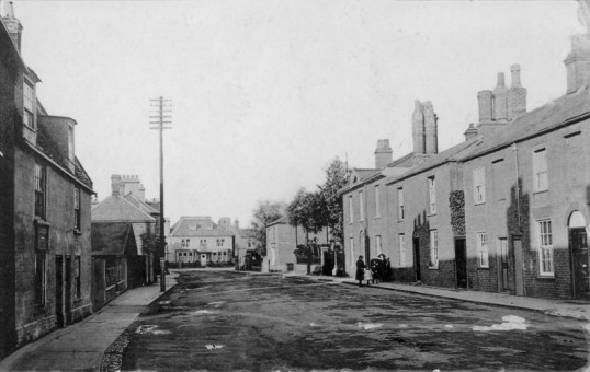 West Park Street, Chatteris. From the Alan Rickwood collection.