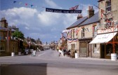 Park Street, Chatteris in coronation year decor. Latest addition to Chatteris museum collection.