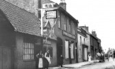 The Golden Lion public house, High Street, Chatteris. From the Chatteris Museum collection.