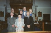 Meeting in West Park Street Baptist Chapel Chatteris prior to closure in 1990.