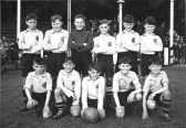 Some King Edward School Pupils possibly  in an  Isle of Ely Football Team