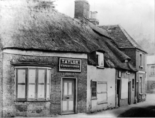 Taylor's Confectioners Park Street, Chatteris. Later Scotneys and now