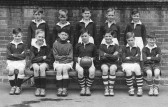 King Edward Primary School, Chatteris, football team. Photo from Dennis Hall collection in Chatteris Museum.