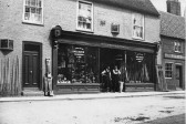 Moulton's Hardware store, Chatteris High Street. Photo from Chatteris museum collection.