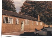 Parish rooms in Church Lane, Chatteris.  These were demolished and the site is now a car park.. Saint Peter's Sports club