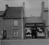 38/40 High Street Chatteris.  Walkers Stores was closed 1963 demolished 1964. Site is now Salvation Army shop and Bonnetts Bakers.