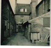 Rear view of 38/40 High Street Chatteris. Demolished 1964
