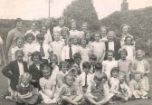 Westwood House School Park St Chatteris. Miss Hammerton's and Miss Vera Heading's Class.