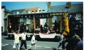 "Chatteris Carnival Parade entrant ""RMS Titanic""."