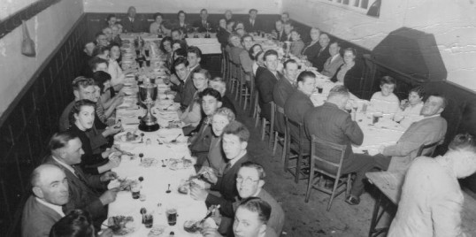 Chatteris Pigeon Club dinner held at the Parish Rooms Chatteris. Photograph kindly contributed by M Bailey.