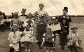Fancy dress competion in Chatteris. Photograph suppliedby Mr Harlock