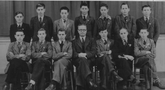 Cromwell School prefects with Mr Llewellyn