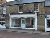 High Street, Chatteris. Former sweet shop awaits conversion to cycle shop.(See 10 Oct 2008 photo)