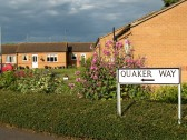 Quaker Way, Chatteris. Sheltered housing complex for elderly residents.