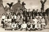 School children from Hive End School, Chatteris. Mrs Skeel's class.