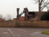Demolition of house on Station Street, Chatteris. What will be built here in the future?