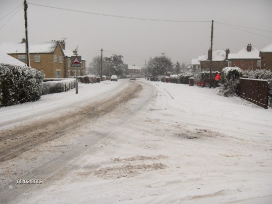 London Rd, Chatteris. Looking north.