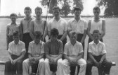 Boys Cricket team.Chatteris.