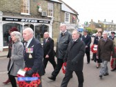 Remembrance Parade. Chatteris. Photo supplied by Fred Payne.