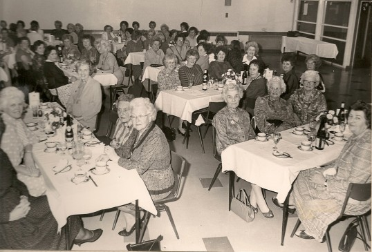 Chatteris WI celebrate sixty years since their formation with a dinner for over 100 guests at Cromwell Community College.