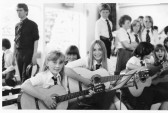 Music class at Cromwell School ,Chatteris. Photograph contributed by K Edgeley.