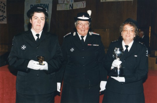 Chatteris St John's Ambulance receive Sir Keith Joseph Cup