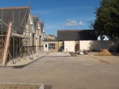 King Edward School, Railway Lane, Chatteris (see 2004 photo) during its refurbishment into the Community Centre.. See completed photos on 10 Jan 2011.