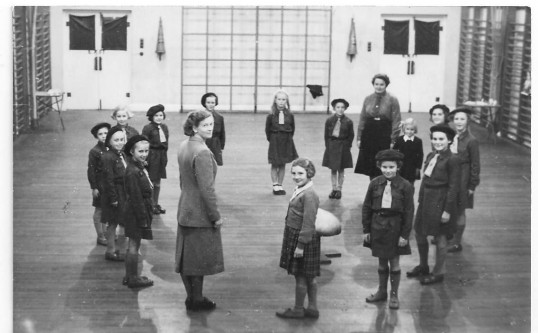 Brownies meeting at the Cromwell School gymnasium in Chatteris. Photo kindly provided by Mrs Dordery.