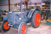 Case 32HP tractor restored by Mr Wade of Chatteris to original colour from USA in 1932, Fisher Humphey wheels; 3speed gear 1 reverse; petrol/parrafin
