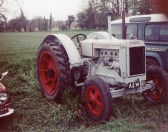 Case tractor restored by Mr Wade from Chatteris