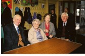 Chatteris King Edward School (now community centre) celebrates it's centenary. (Photo courtesy of KEC trustees.) . Staff visit