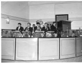 """Chatteris """"Palace"""" Dance Band. Roy Shilling is playing the Piano. Photo contributed by M Shilling."""