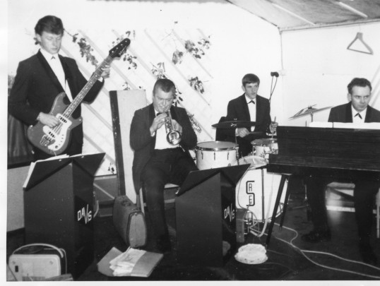 Chatteris people entertaining in a band. Photo contributed by M Shilling. Date approximate.