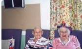 "Barbara and Doris, members of the ""Come and Be Heard"" group for those hard of hearing which meets at Lyons Court, Chatteris."