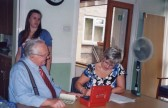 A scene from the Come and Be Heard Group meeting at Lyons Court, Huntingdon Rd, Chatteris.