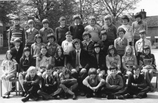 1973/4 King Edward School Group.