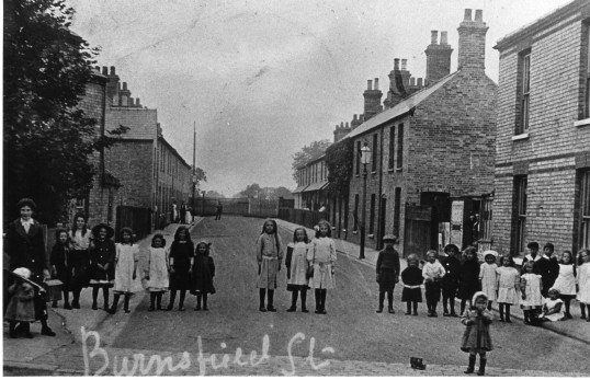 Burnsfield Street, Chatteris. Photo courtesy of P Heaps.