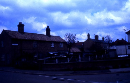 Clifton's Yard on corner of Westbourne Rd. Chatteris.Photo Courtesy of R. Edwards.