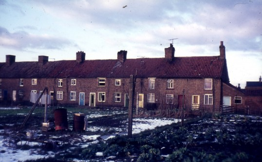 Southampton Place, London Road,Chatteris, seen from rear gardens. Photo courtesy of R. Edwards.